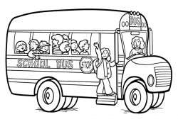 School Bus Coloring Page Free Printable School Bus Coloring Pages For Kids