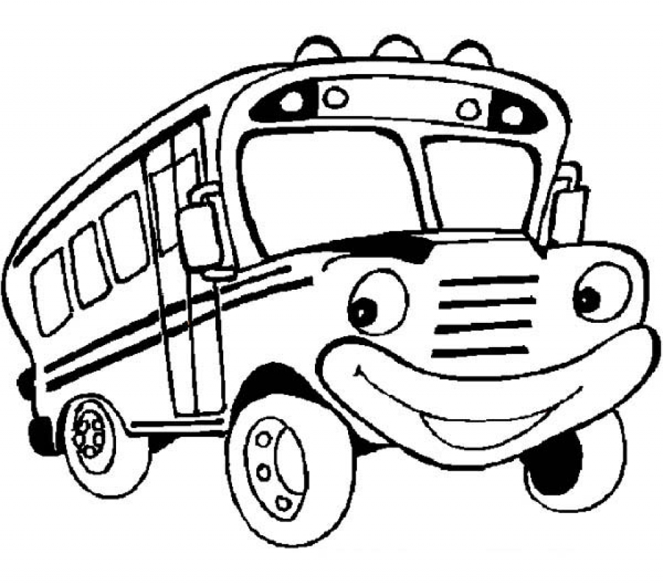 School Bus Coloring Page Get This Printable School Bus Coloring Pages Yzost