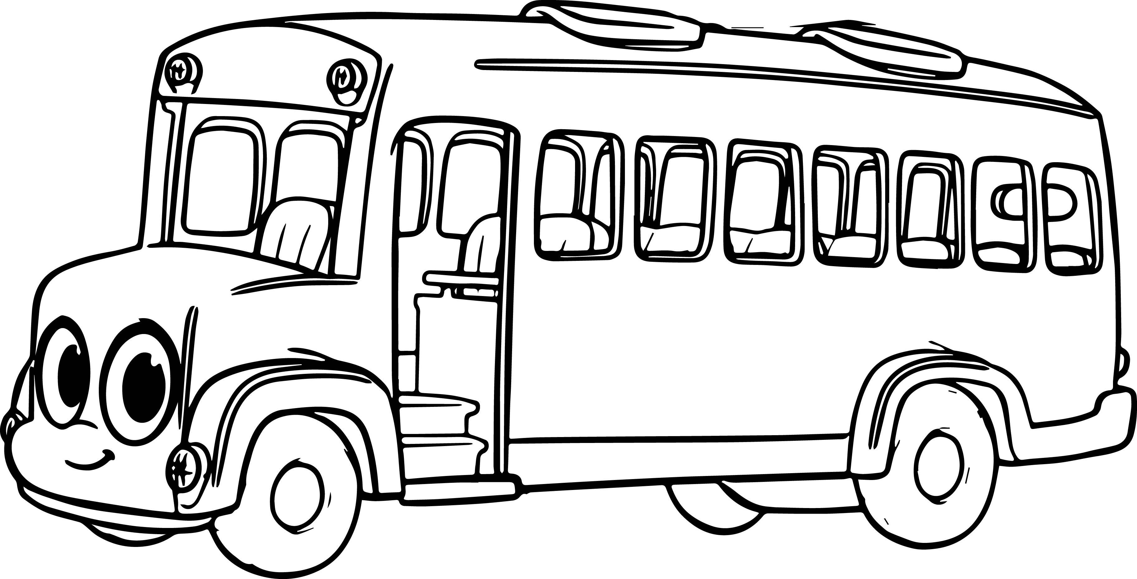 School Bus Coloring Page Magic School Bus Coloring Pages Buses Coloring Pages 12 H