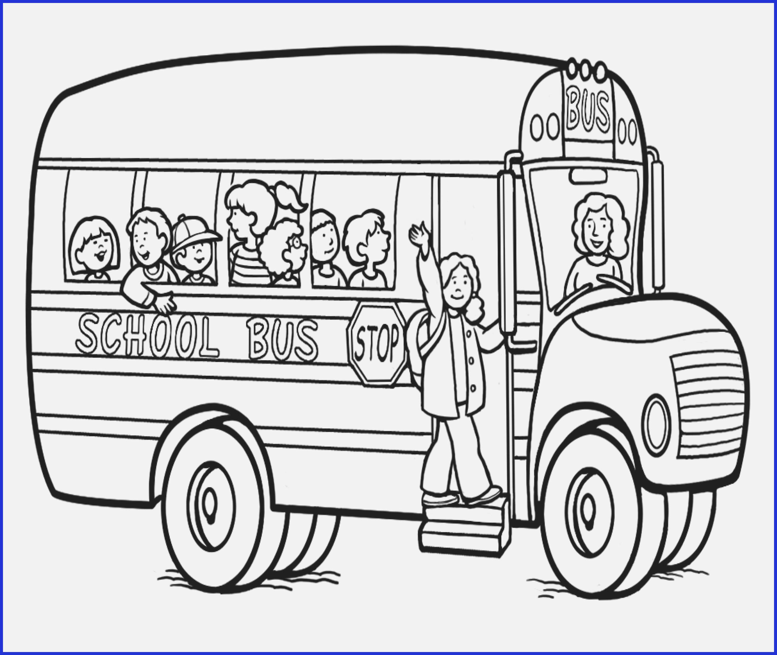 School Bus Coloring Page School Bus Coloring Page Elegant School Bus Coloring Page Coloring