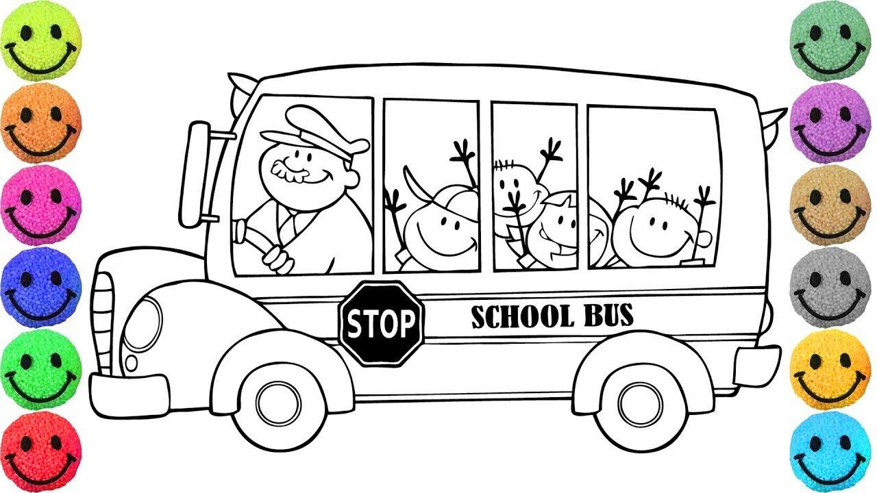 School Bus Coloring Page Special School Bus Coloring Sheet Great Page Printable 51 For Line