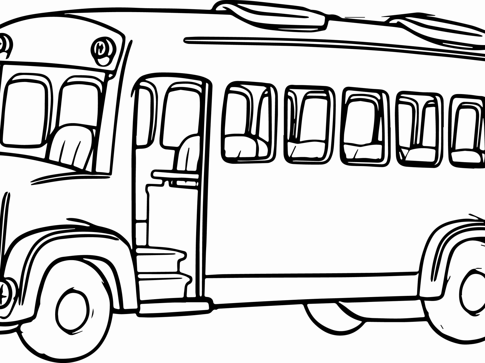 School Bus Coloring Page Tayo The Little Bus Coloring Pages At Getdrawings Free For