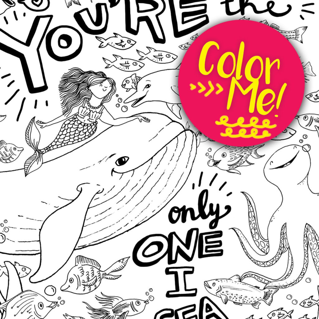 Sea Monster Coloring Pages Coloring Book World Sea Creature Coloring Page Pages Download Etsy