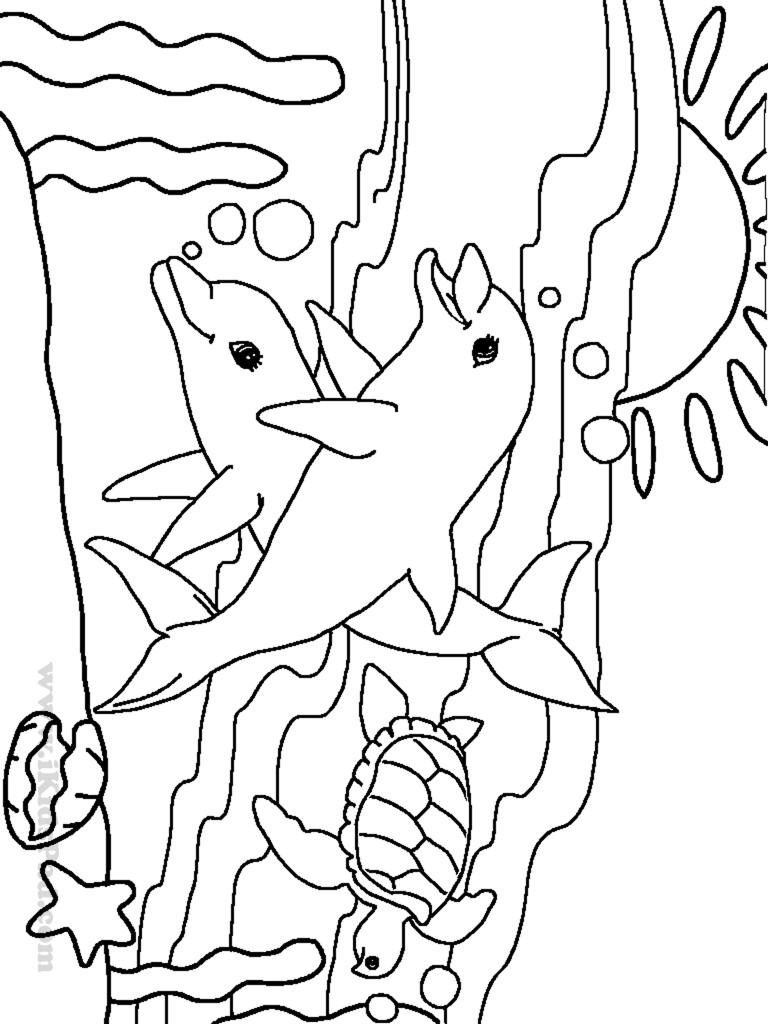 Sea Monster Coloring Pages Coloring Page Ocean Animals Colorings Kindergarten Sea Creature