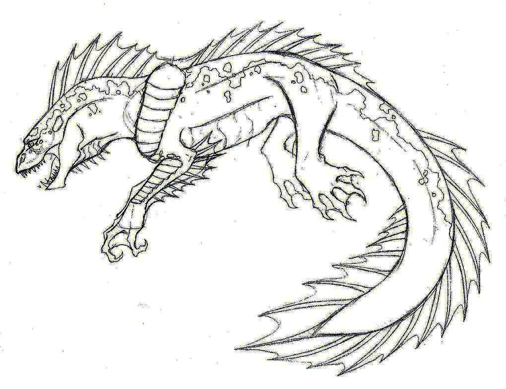 Sea Monster Coloring Pages Sea Monster Coloring Pages Classic Style Cute Monster Coloring