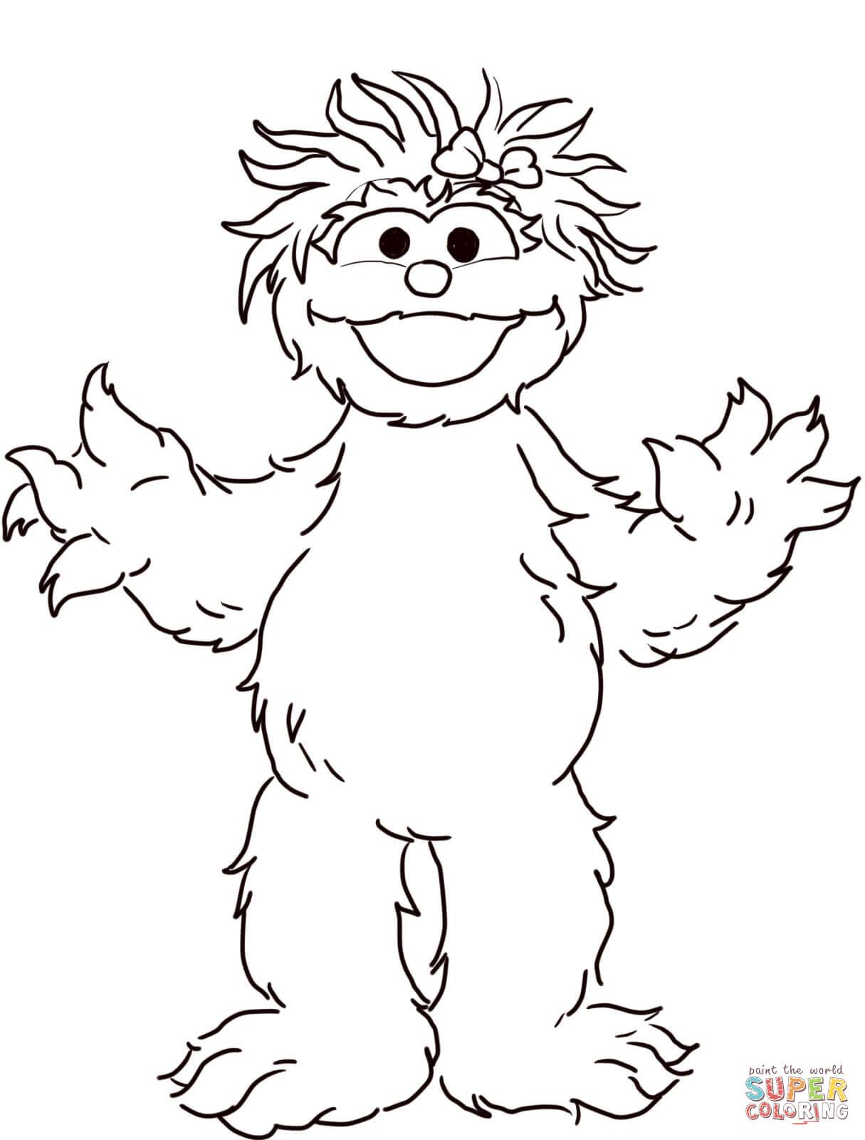 Sesame Street Sign Coloring Page Sesame Street Coloring Pages Free Coloring Pages