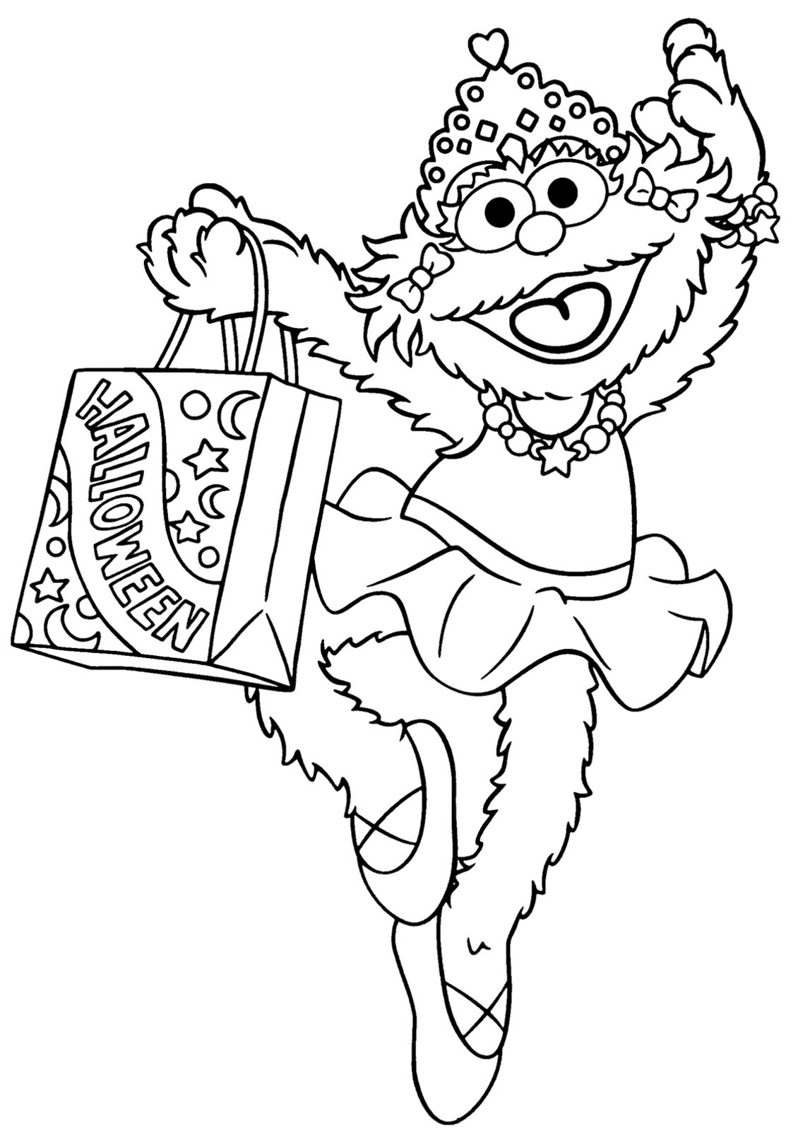 Sesame Street Sign Coloring Page Sesame Street To Print For Free Sesame Street Kids Coloring Pages