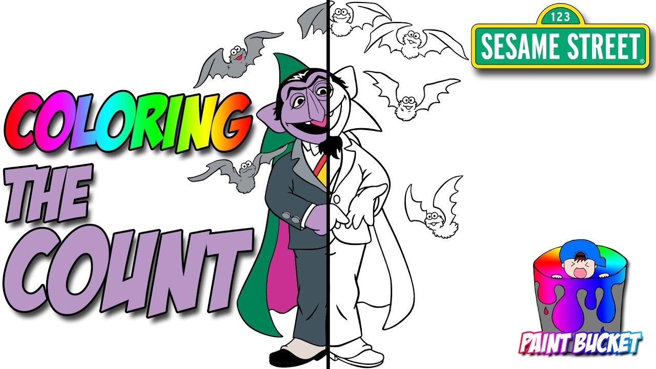 Sesame Street Sign Coloring Page Sesame Streets The Count Coloring Book Sesame Street Coloring Pages For Kids