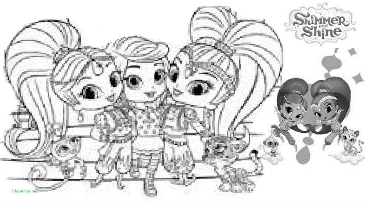 Shimmer And Shine Coloring Pages To Print Shimmer And Shine Coloring Sheets Best Of Enjoyable Shimmer And