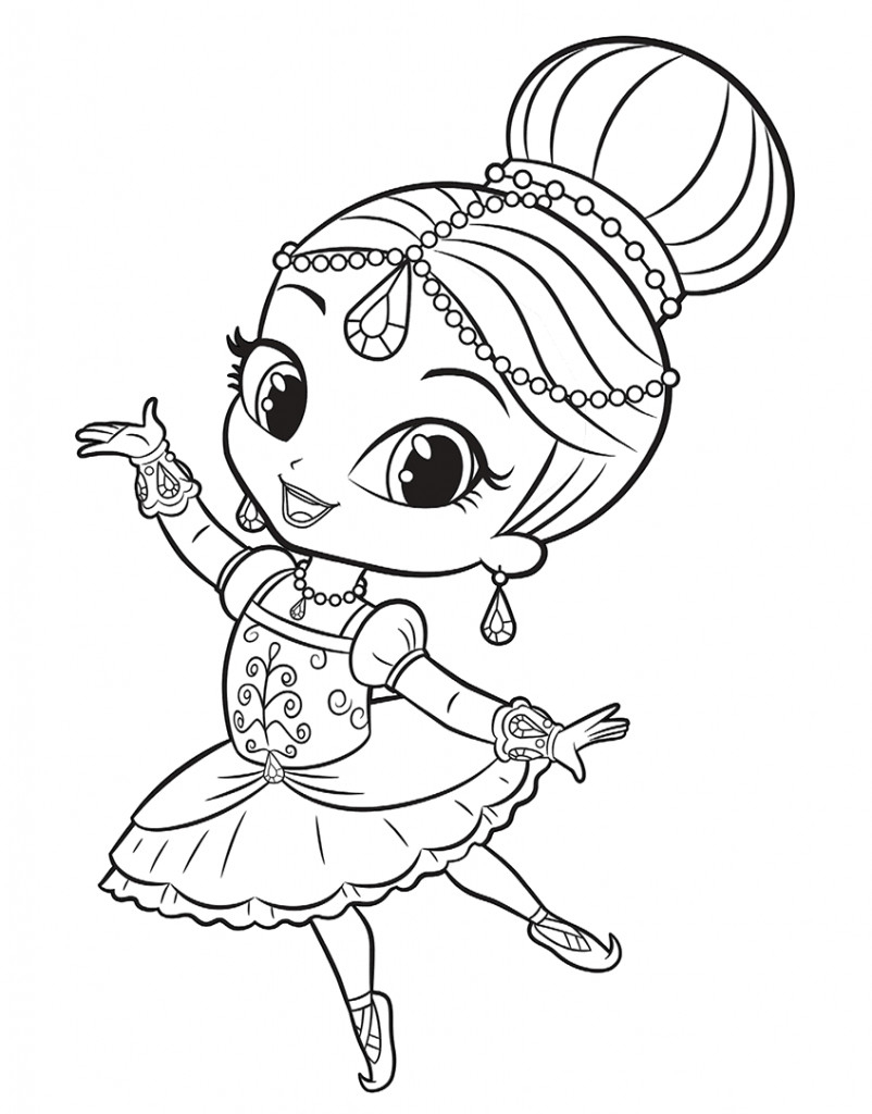 Shimmer And Shine Coloring Pages To Print Vampirina Coloring Pages Disney Shimmer And Shine Coloring Sheets