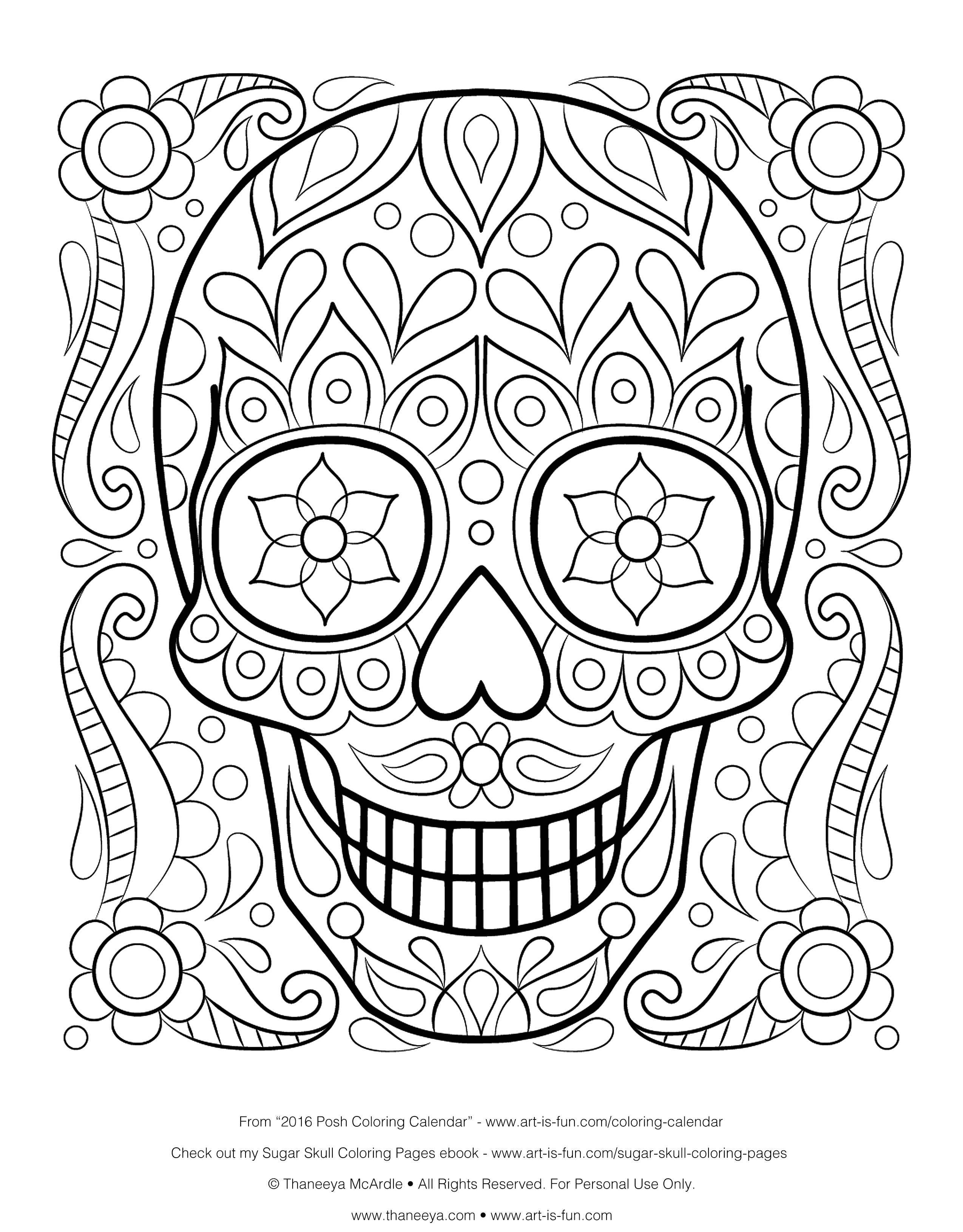 Skull Color Pages Coloring Ideas Bones Of The Skull Coloring Pages Free Printable