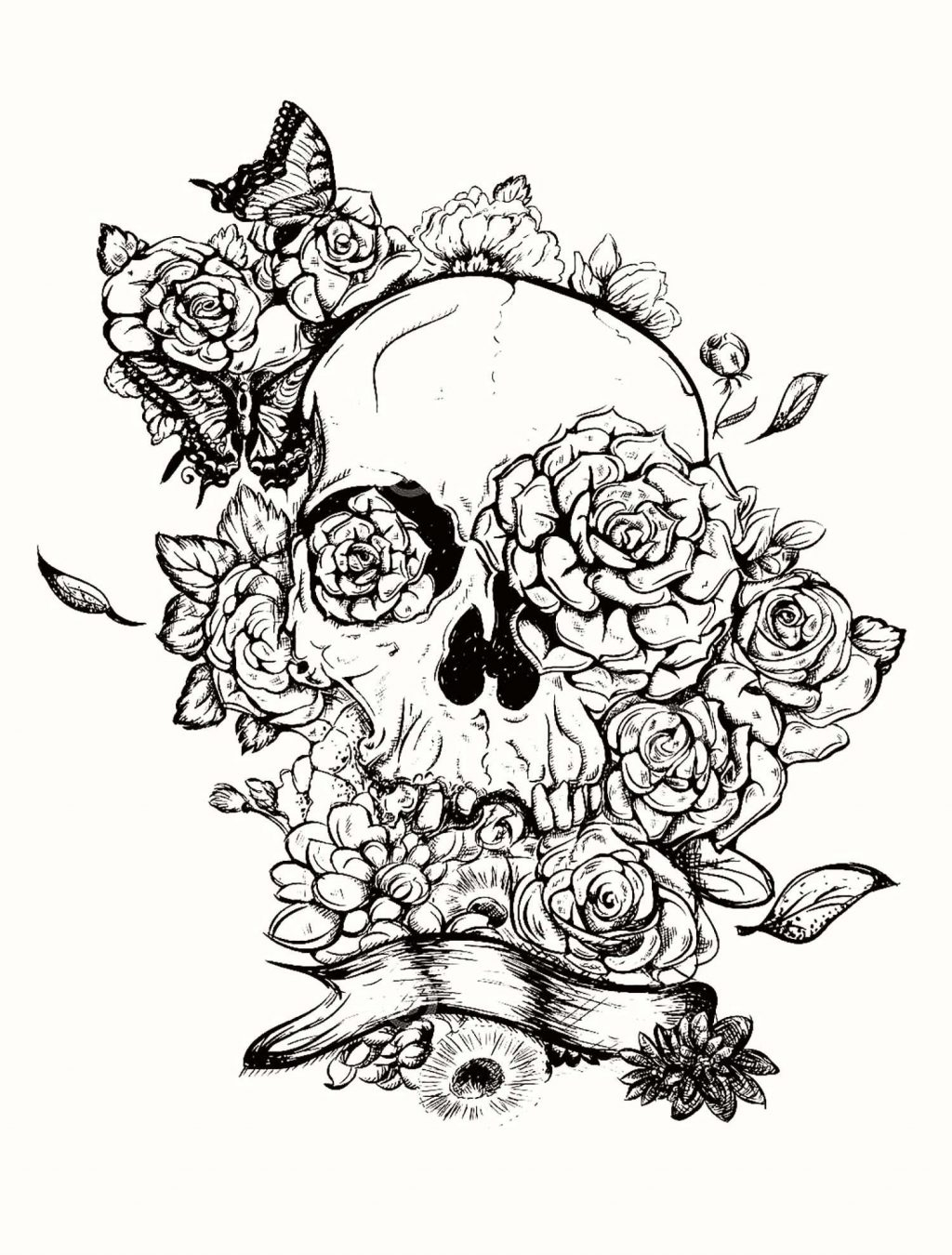 Skull Color Pages Coloring Page Best Candy Skull Coloring Pages Image Ideas Page