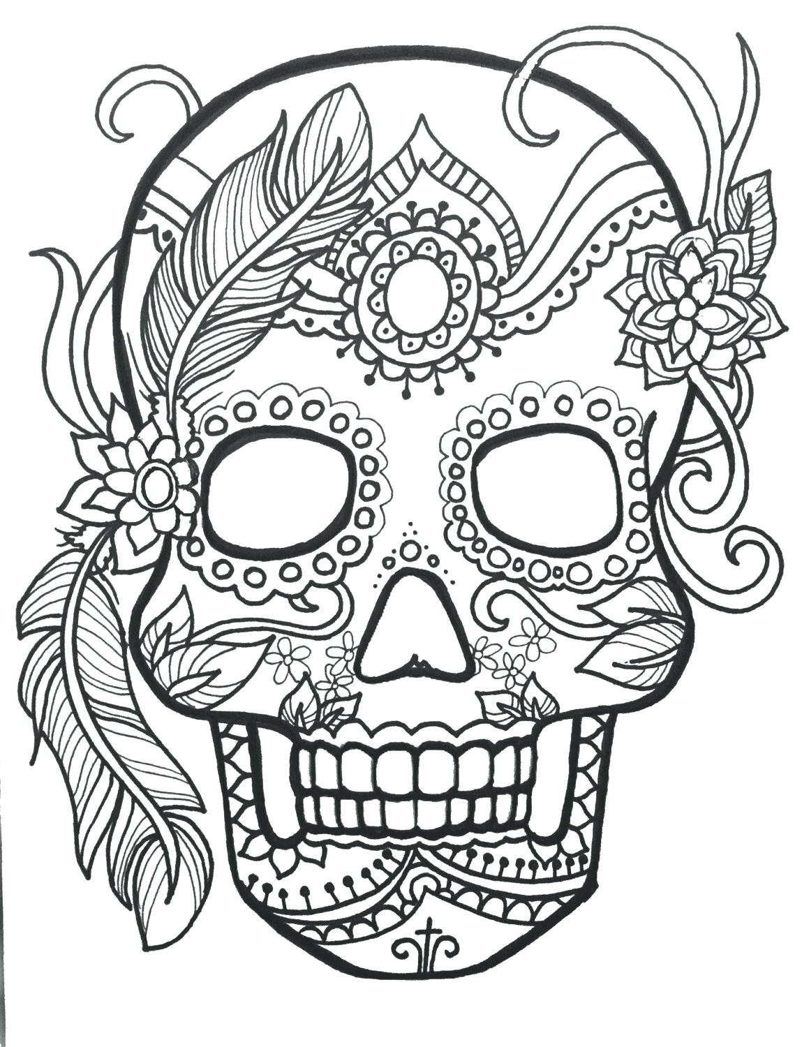 Skull Color Pages Skull Coloring Pages For Adults Sunbeltsheetco