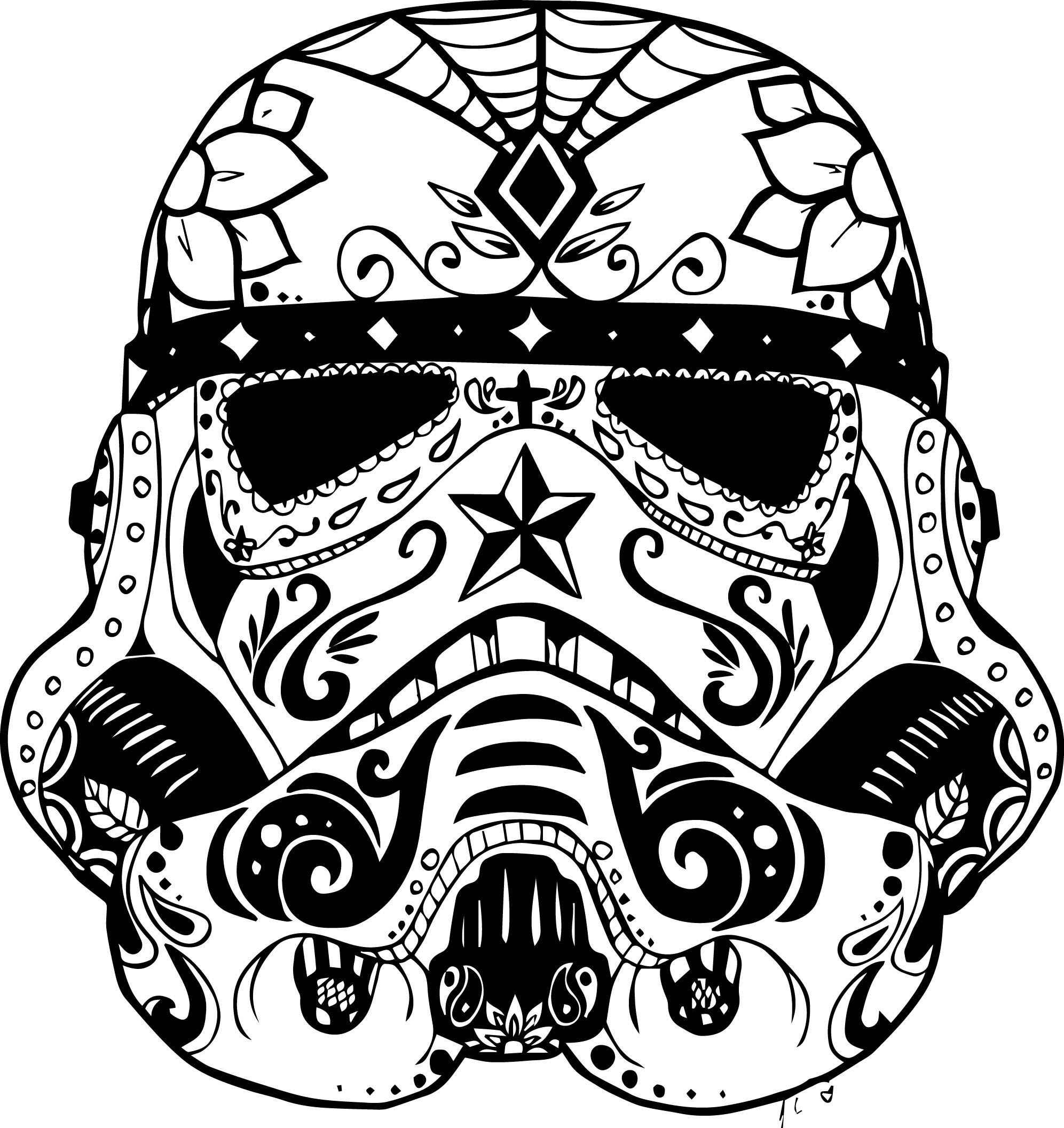 Skull Color Pages Skull Coloring Pages Free Download Best Skull Coloring Pages On