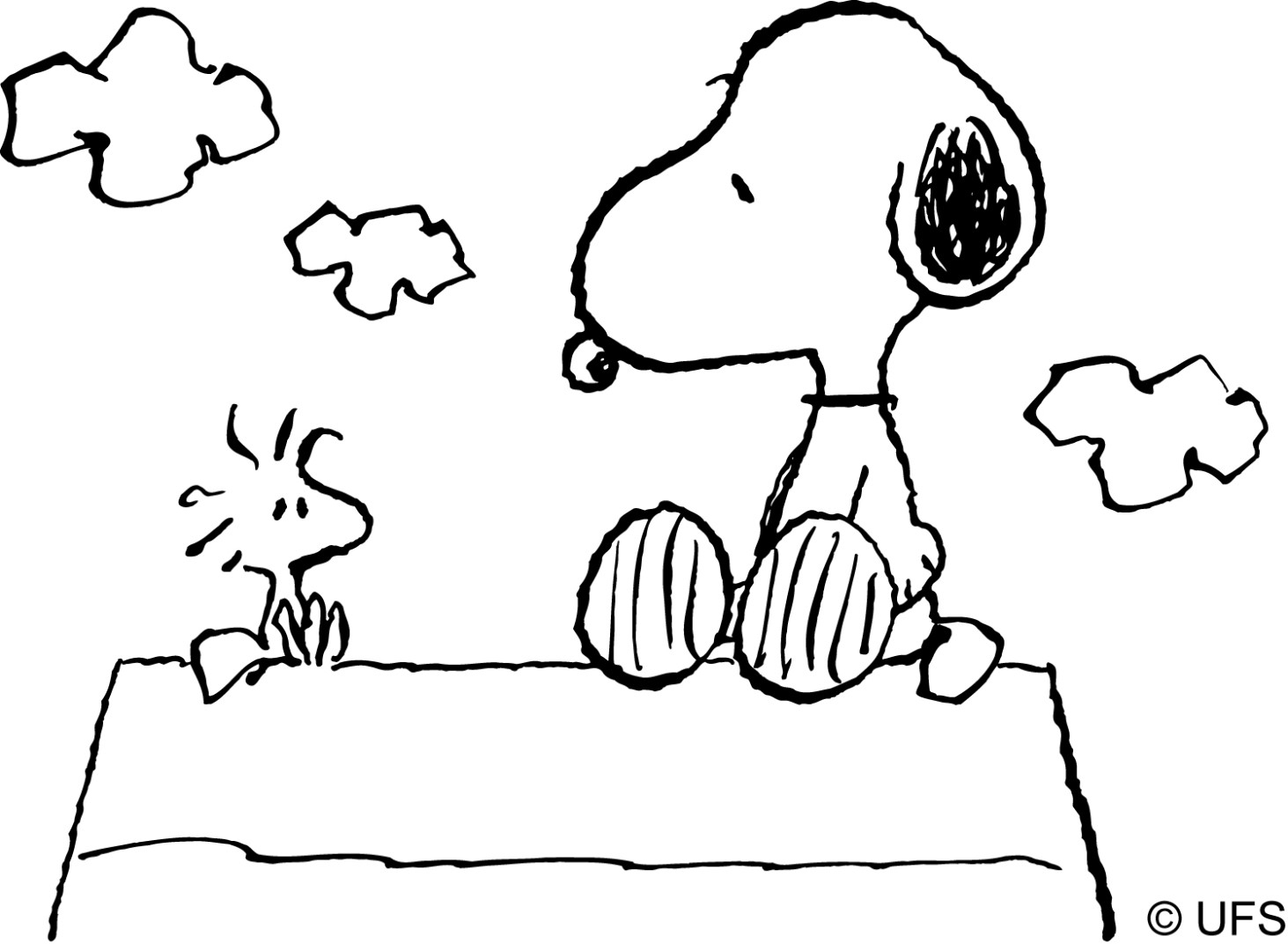 Snoopy And Woodstock Coloring Pages Coloring Ideas Snoopy Coloring Pages Picture Ideas 65 Snoopy