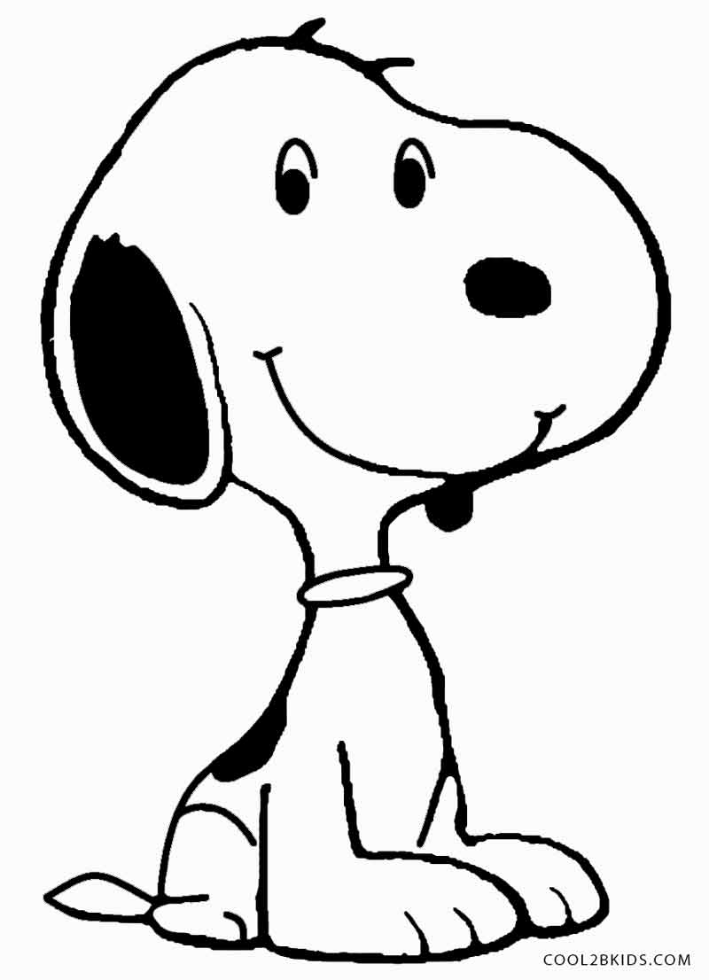 Snoopy And Woodstock Coloring Pages Printable Snoopy Coloring Pages For Kids Cool2bkids