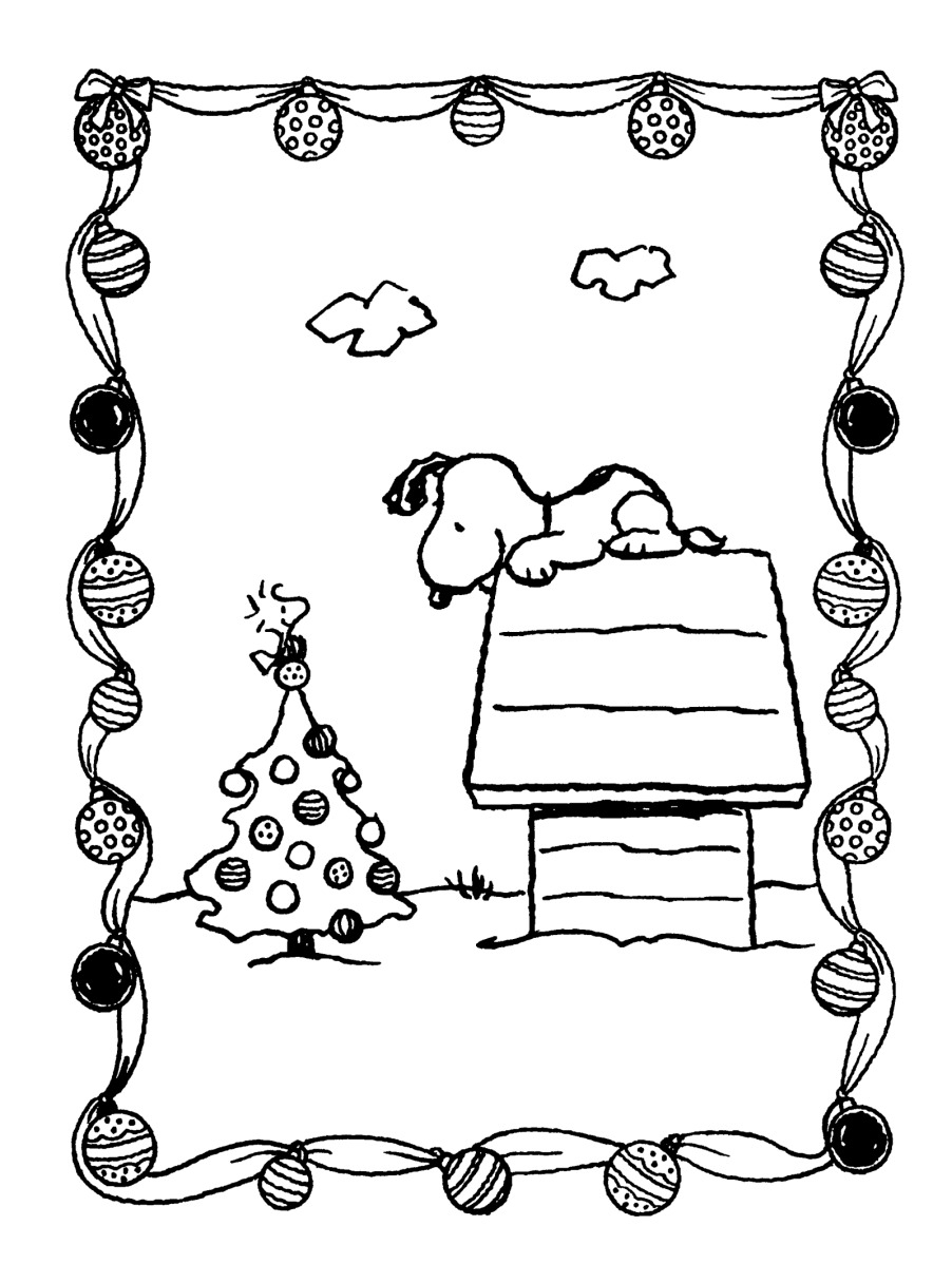 Snoopy And Woodstock Coloring Pages Snoopy Woodstock Christmas Coloring Pages Famouswatchesonlinetop
