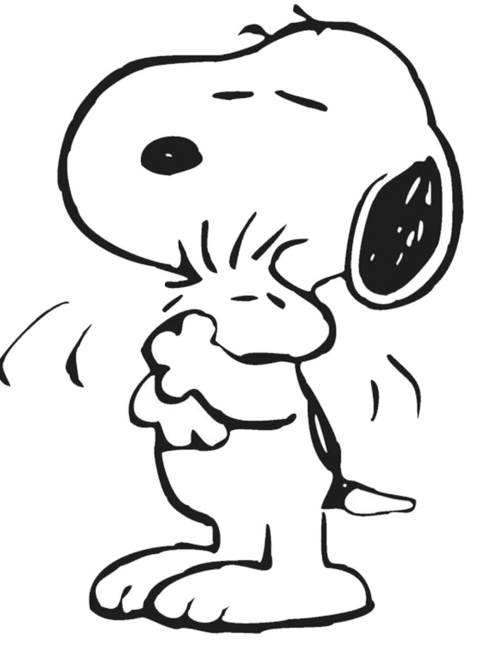 Snoopy And Woodstock Coloring Pages Woodstock Snoopy Coloring Pages Coloring Home