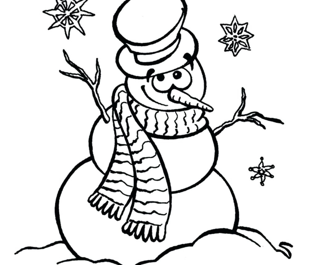 Snowmen Coloring Pages Coloring Pages Santa Coloring Sheet Ideas Snowman Awesome