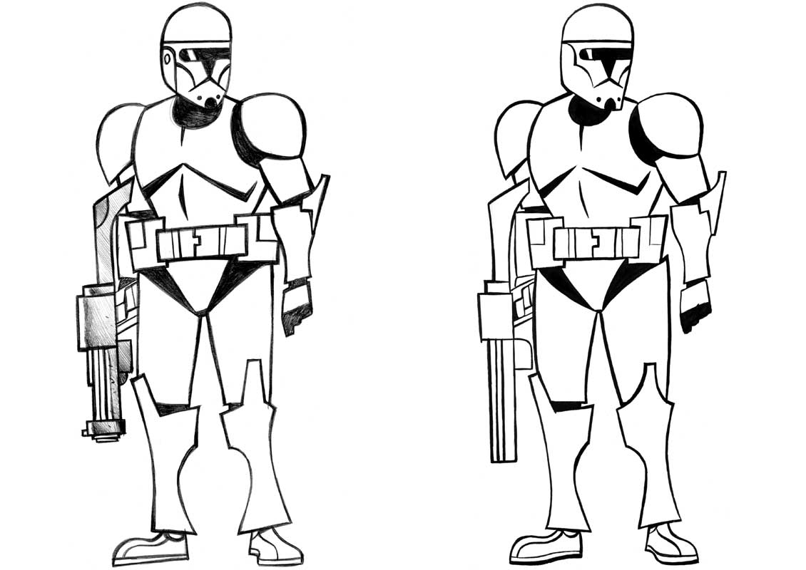 Star Wars Clone Coloring Pages Clone Wars Coloring Pages 17 Pictures Colorine 21358