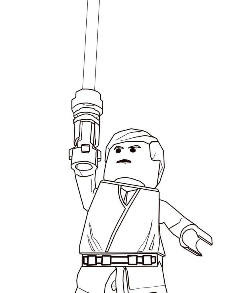 Star Wars Clone Coloring Pages Coloring Excelent Lego Star Wars Coloring Pages Clone Luke