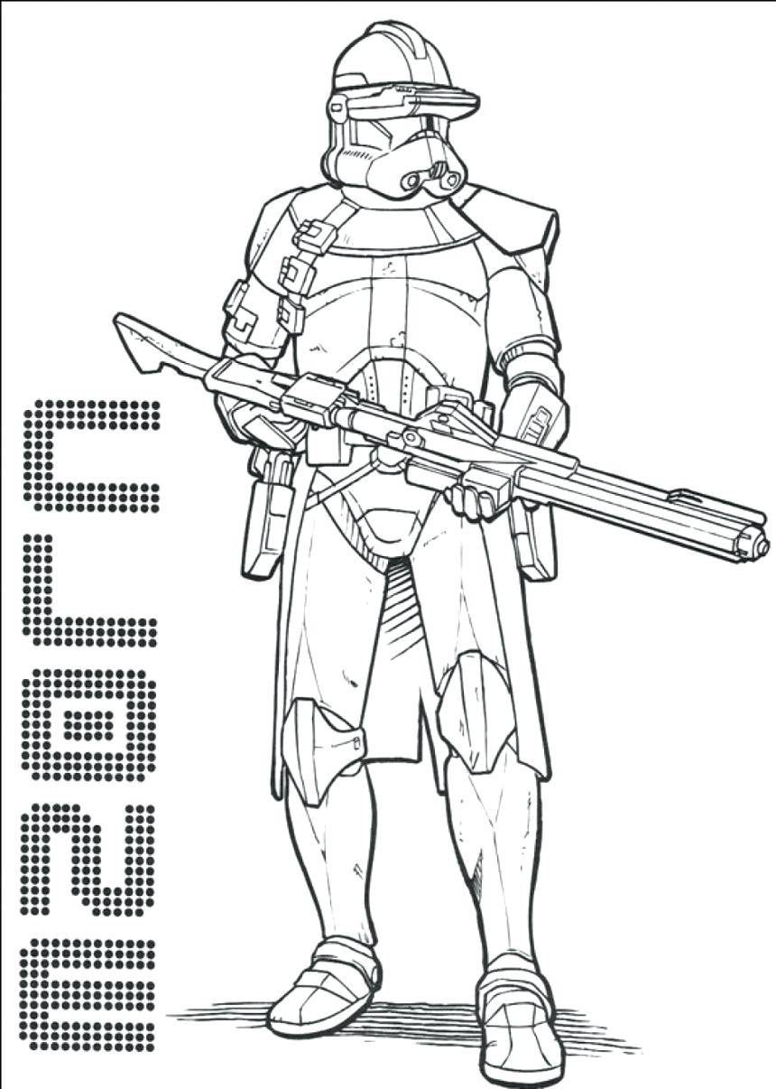 Star Wars Clone Coloring Pages Free Star Wars Coloring Pages Sunraysheetco