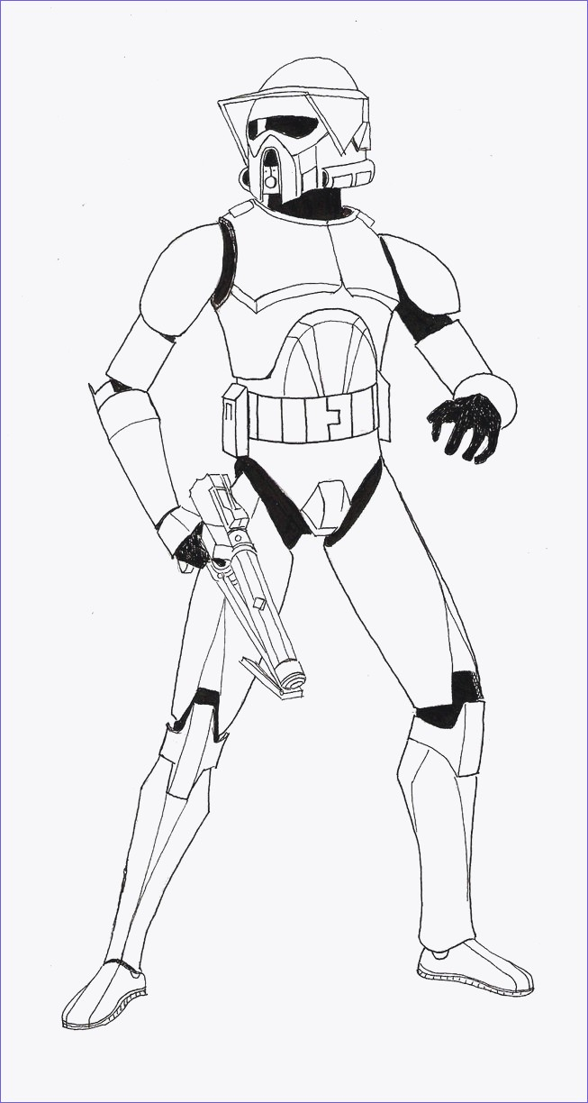 Star Wars Clone Coloring Pages Star Wars Clone Trooper Drawing At Paintingvalley Explore