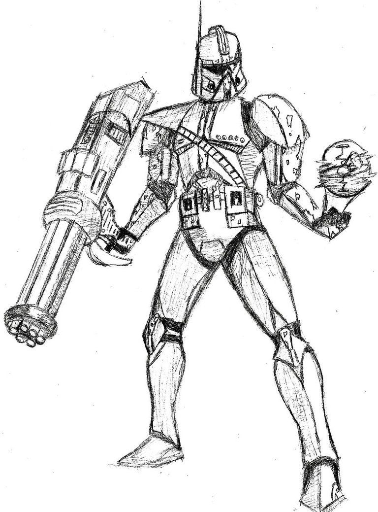Star Wars Clone Coloring Pages Star Wars Clone Trooper Free Coloring Pages Coloring Coloring Home