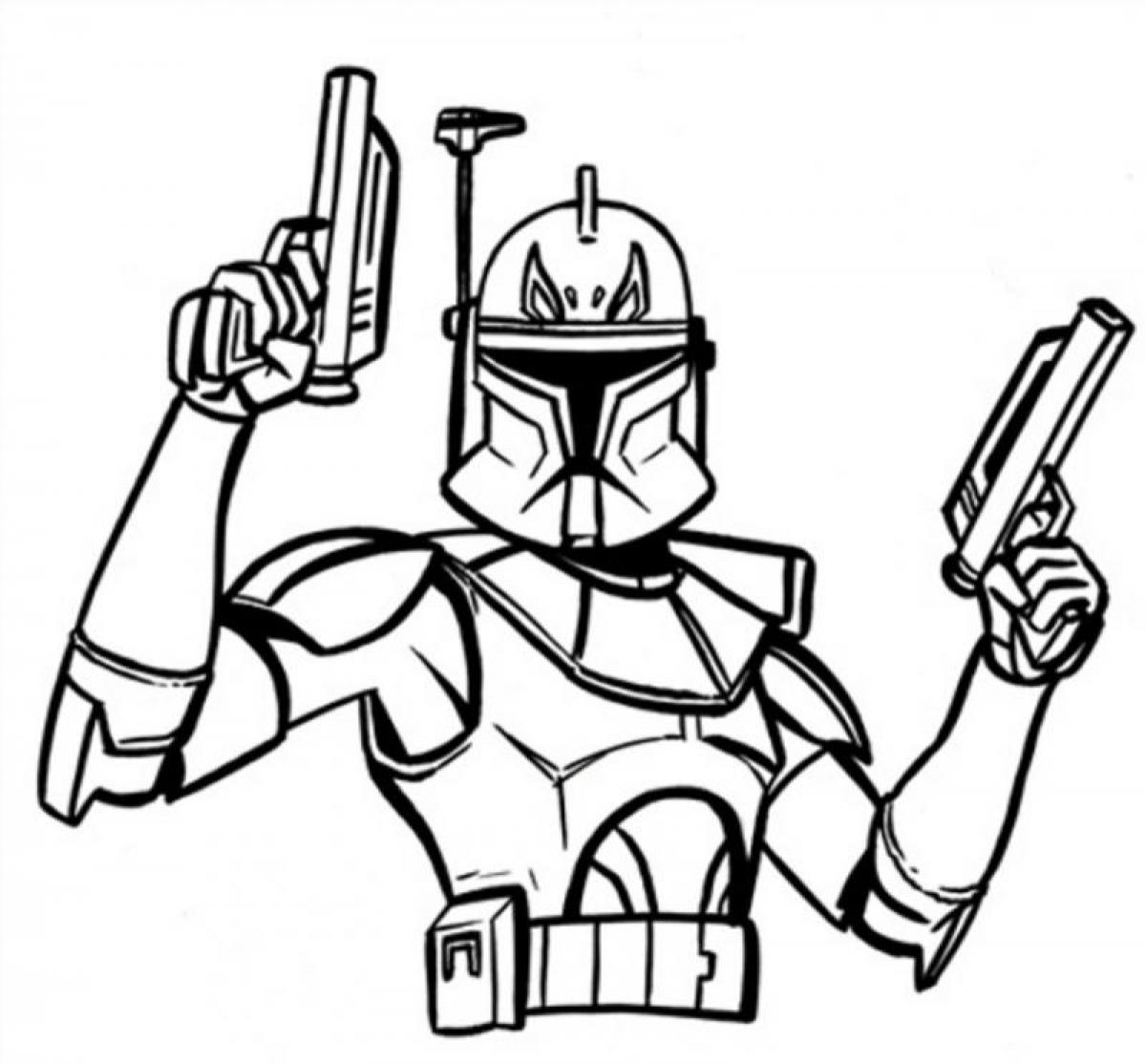 Star Wars Clone Coloring Pages Star Wars Coloring Pages Free Download Best Star Wars Coloring