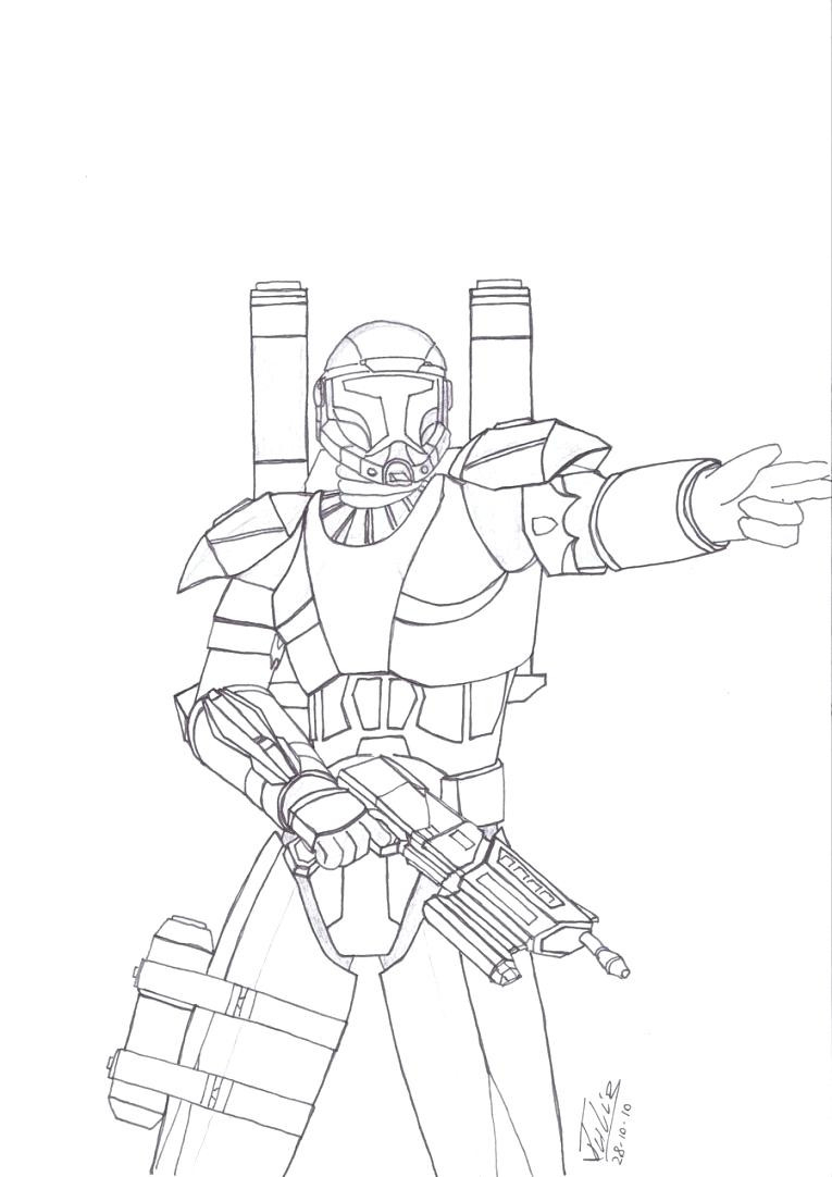Star Wars Clone Coloring Pages Star Wars Republic Commando Coloring Pages