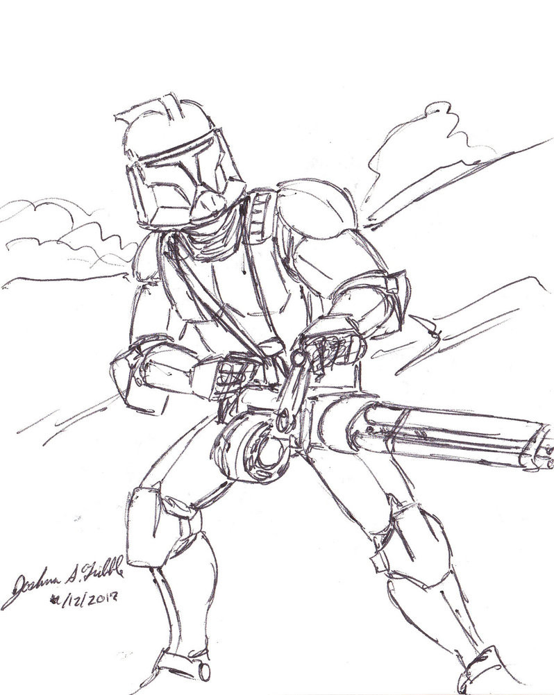Star Wars Clone Coloring Pages Star Wars The Clone Wars Drawings At Paintingvalley Explore