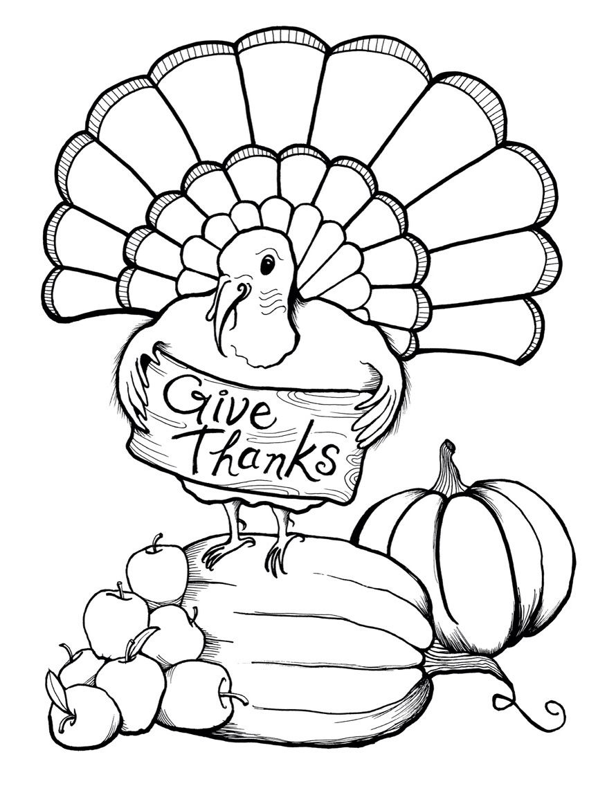 Thanksgiving Coloring Pages For Boys Coloring Ideas Thanksgiving Coloring Page Free Printables Ideas