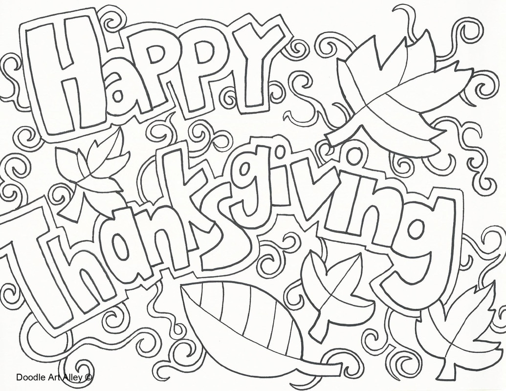 Thanksgiving Coloring Pages For Boys Thanksgiving Coloring Pages Doodle Art Alley