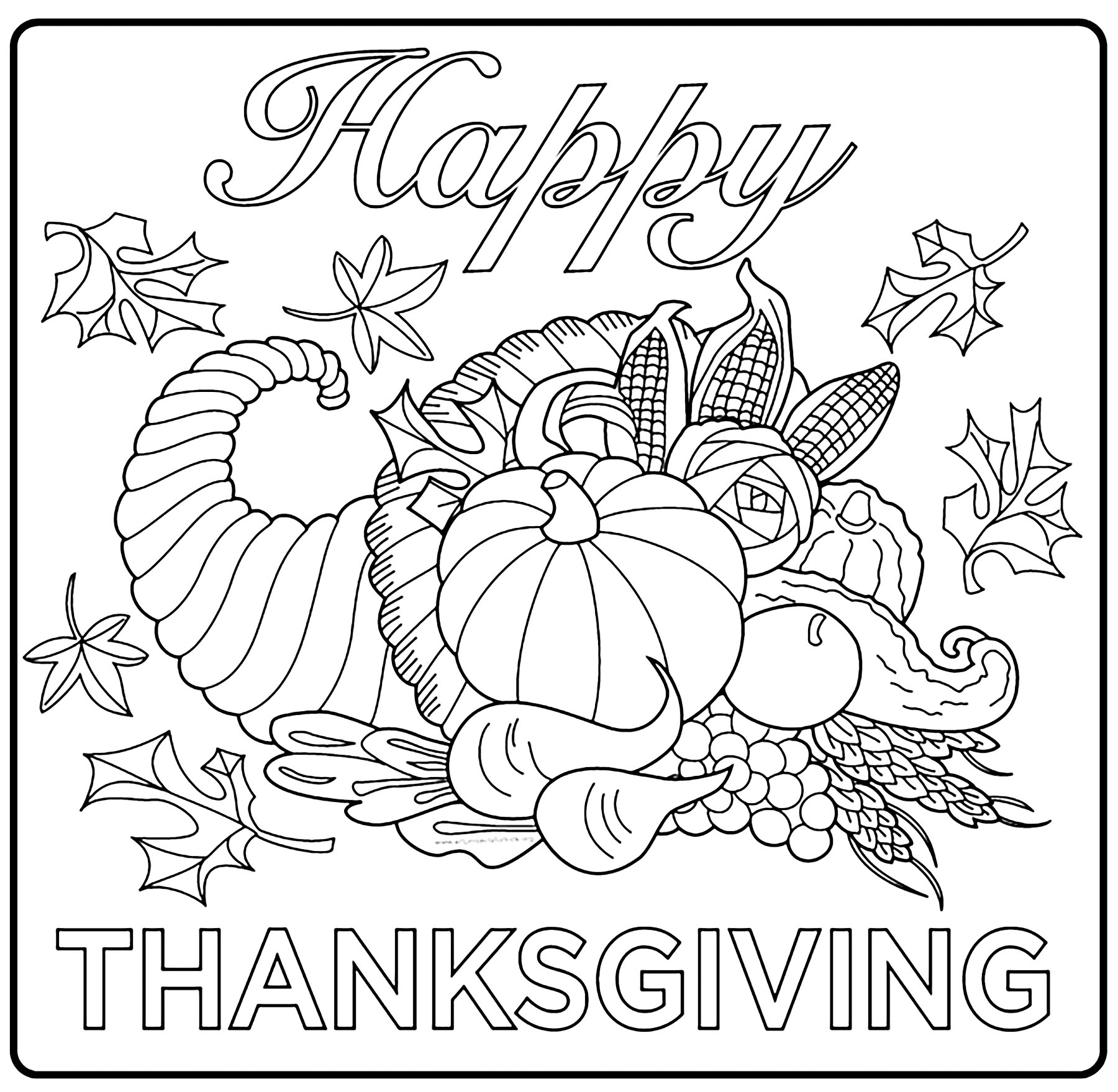 Thanksgiving Coloring Pages For Boys Thanksgiving Free To Color For Children Thanksgiving Kids Coloring
