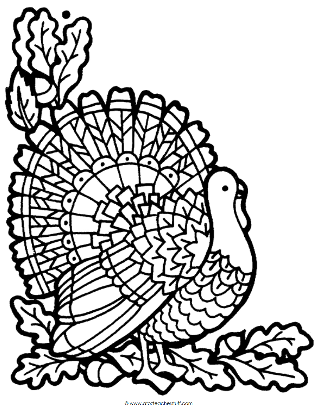 Thanksgiving Day Coloring Pages Free Coloring Pages Thanksgiving Turkeyoloring Pictures Sheets For Kids