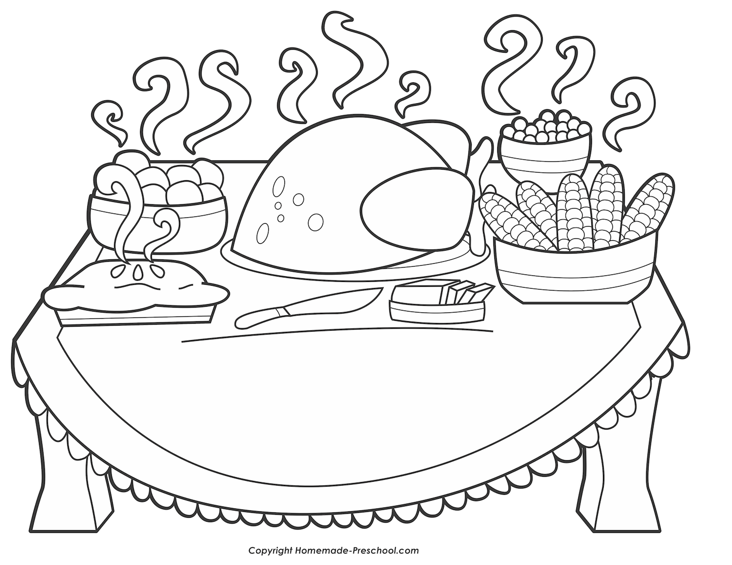 Thanksgiving Day Coloring Pages Free Thanksgiving Coloring Pages