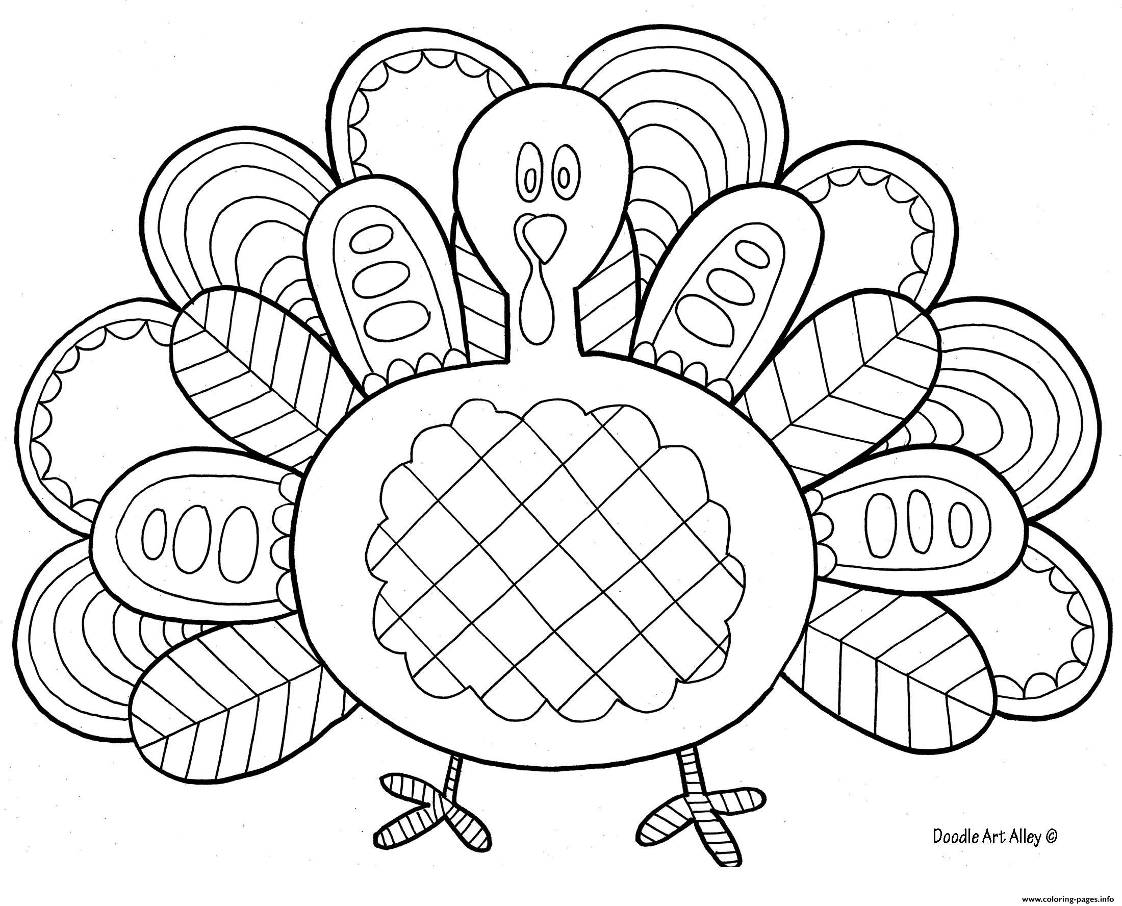 Thanksgiving Day Coloring Pages Free Turkey Ring Sheet Book World Free Printable Feather Page Body