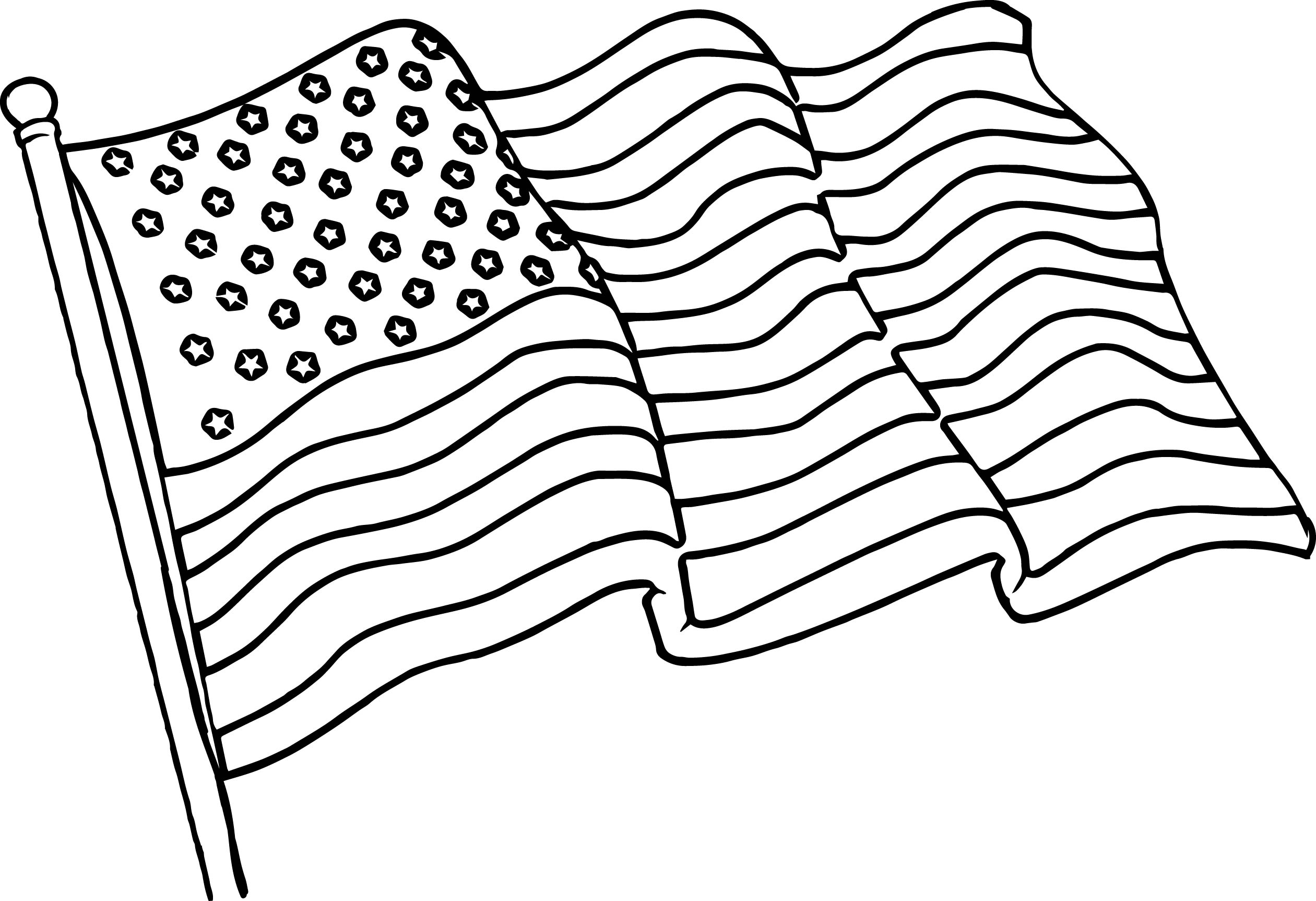 The American Flag Coloring Page American Flag Coloring Pages Best Coloring Pages For Kids