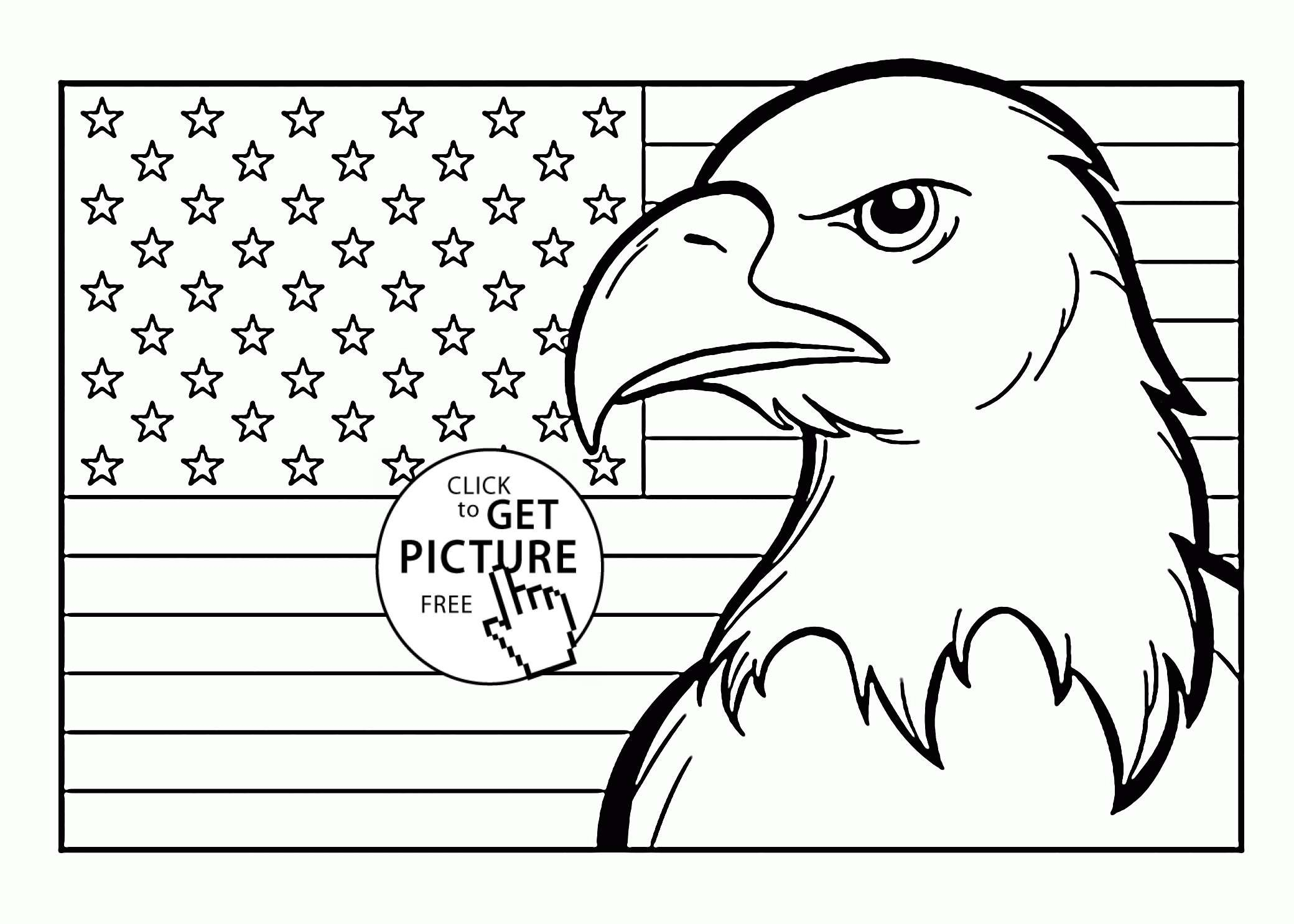 The American Flag Coloring Page Coloring Design First American Flag Coloring Page Best Pages