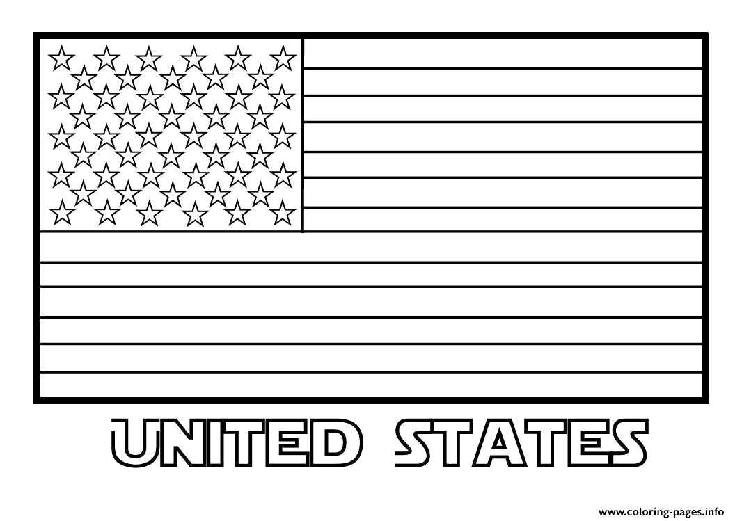 The American Flag Coloring Page Coloring Ideas Coloring Pages Free Printable American Flag Page