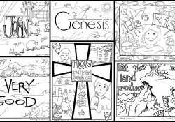 The Church Began Coloring Page Bible Coloring Pages For Kids Free Printables