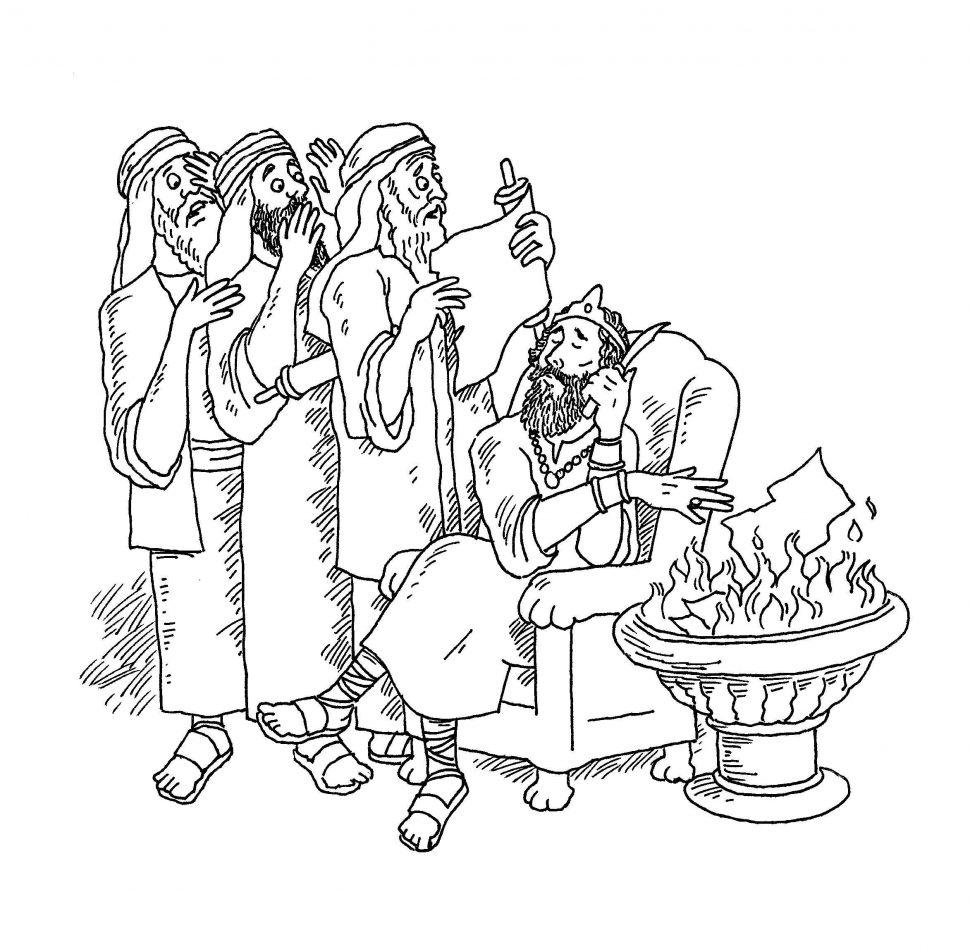 The Golden Calf Coloring Page Golden Calf Coloring Pages Josiah Destroyed Kidcolorings