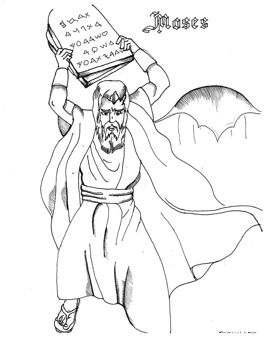 The Golden Calf Coloring Page Golden Calf Coloring Pages Lineart Kidcolorings