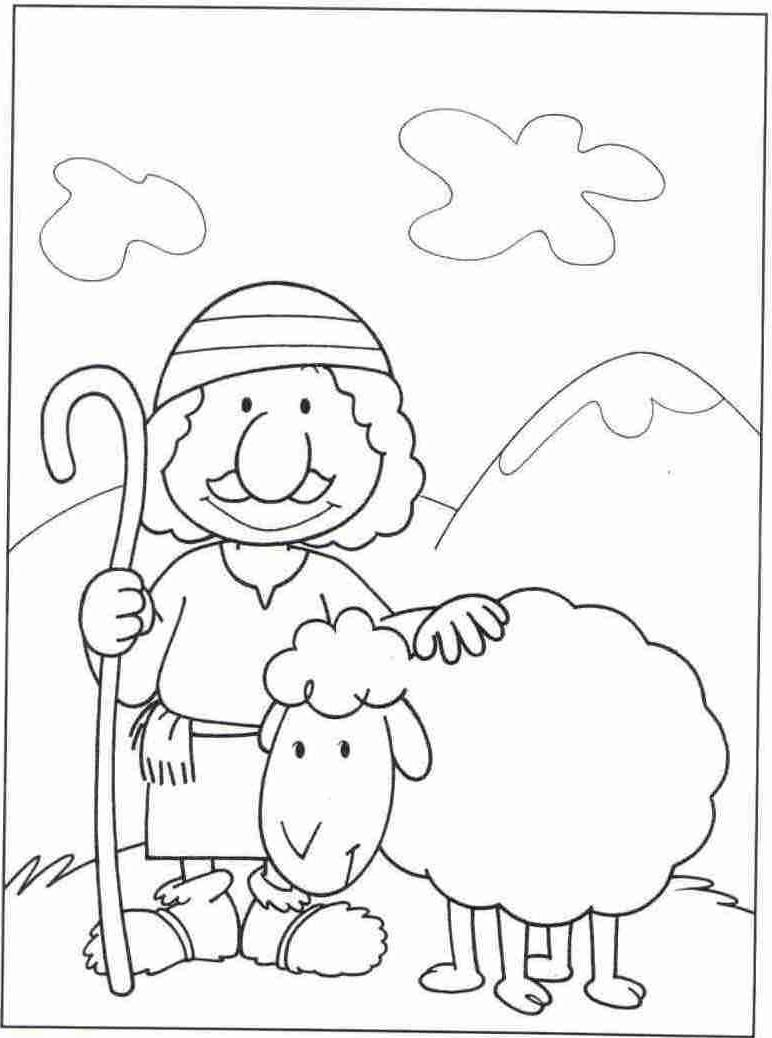 The Good Shepherd Coloring Page Amazing Shepherd Coloring Page Jesus The Good Pages 2403714 Free