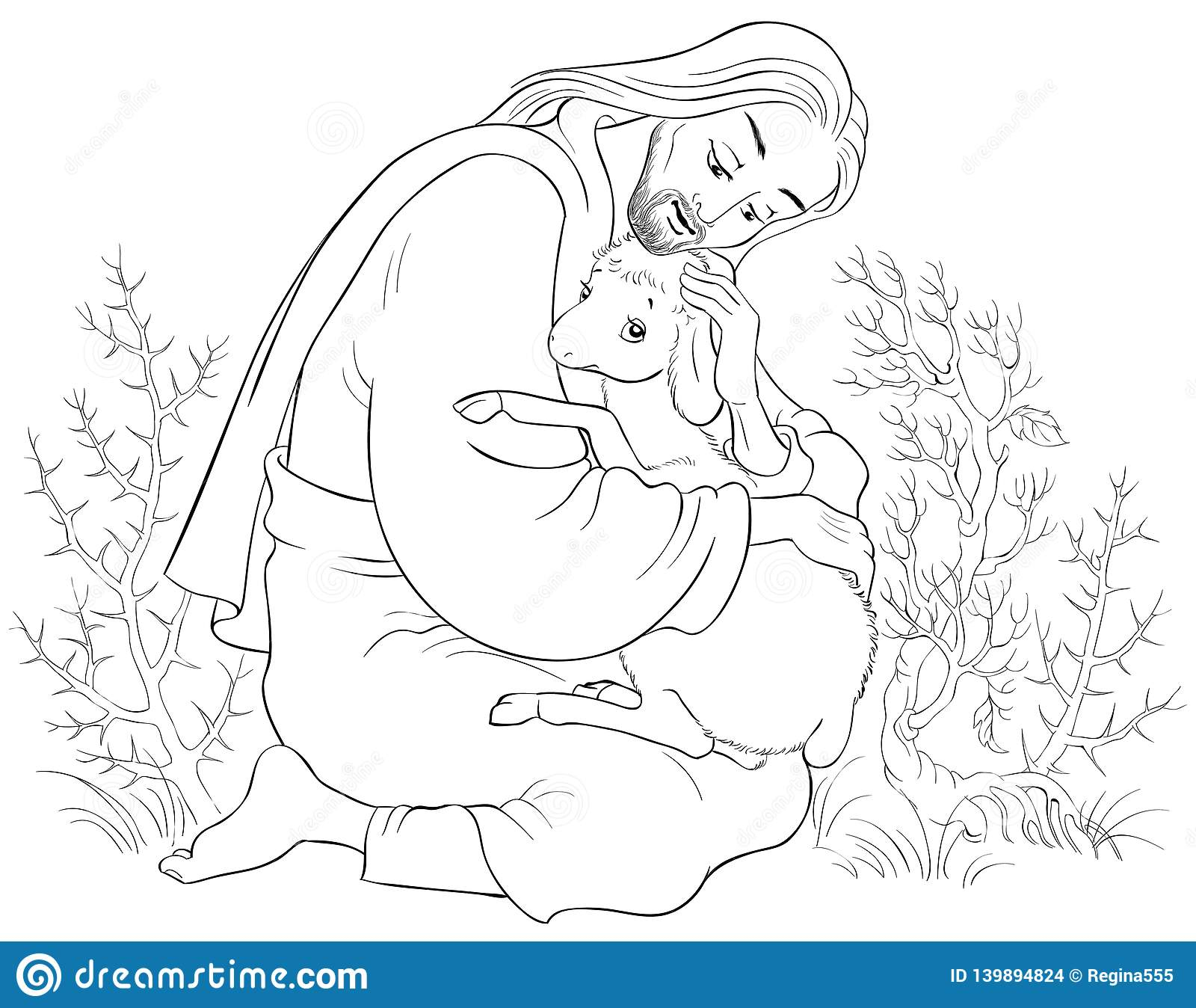 The Good Shepherd Coloring Page Coloring Ideas History Of Jesus Christ The Parable Lost Sheep Good