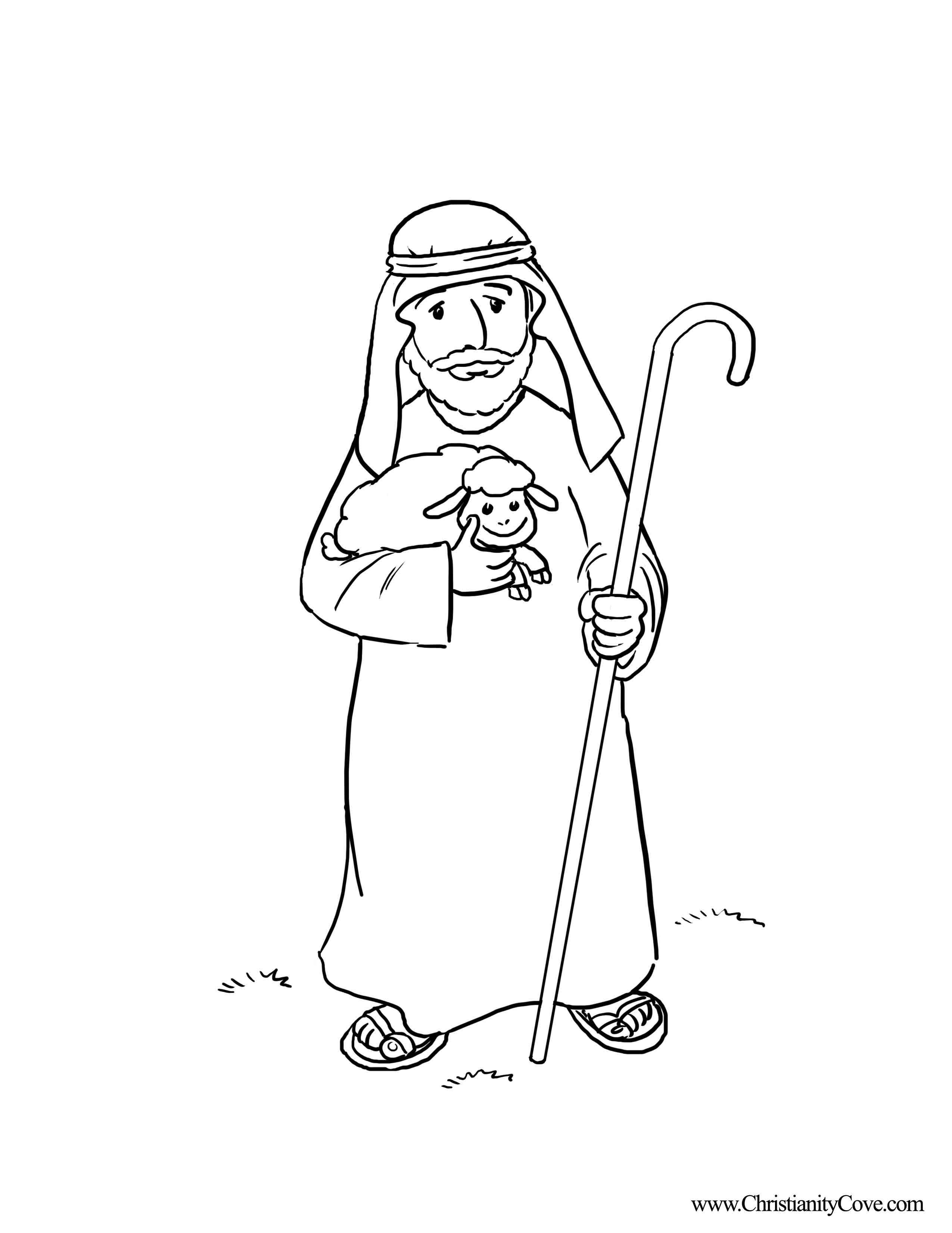 The Good Shepherd Coloring Page Good Shepherd Coloring Pages Free Coloring Home