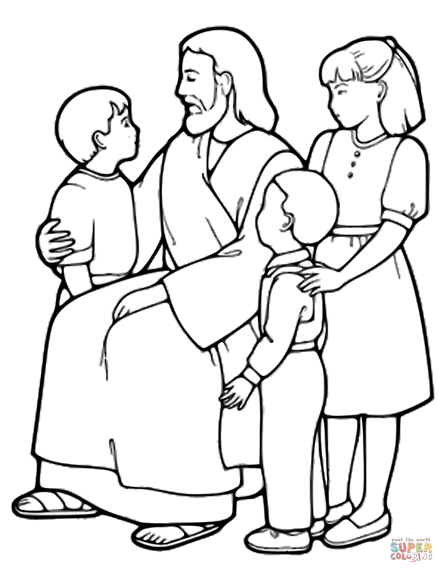 The Good Shepherd Coloring Page Jesus Is The Good Shepherd Coloring Page Free Printable Coloring Pages