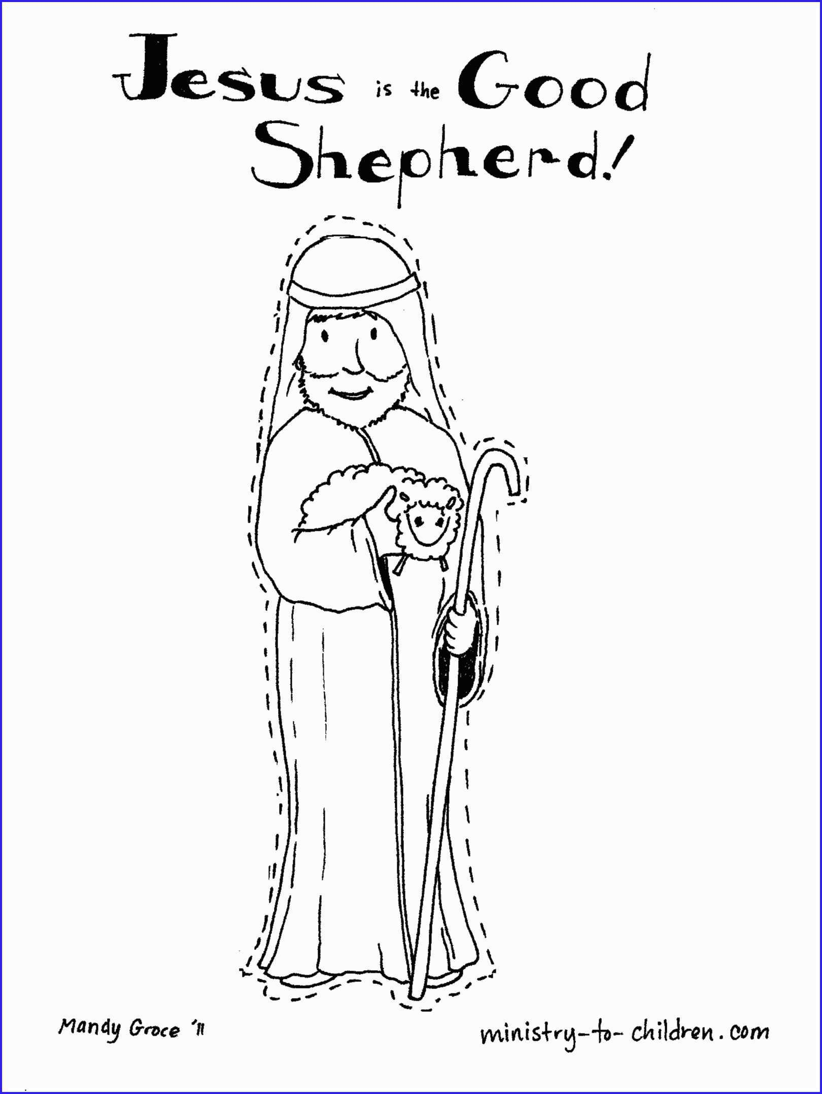 The Good Shepherd Coloring Page Jesus The Good Shepherd Coloring Pages New 16 Best Of Bible Verse