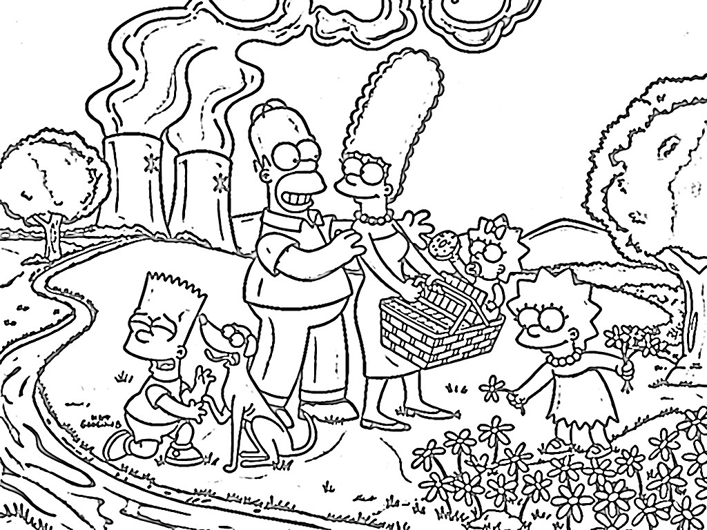 The Simpsons Coloring Pages Simpsons Coloring Pages Fresh Fresh Homer Simpson Coloring Page