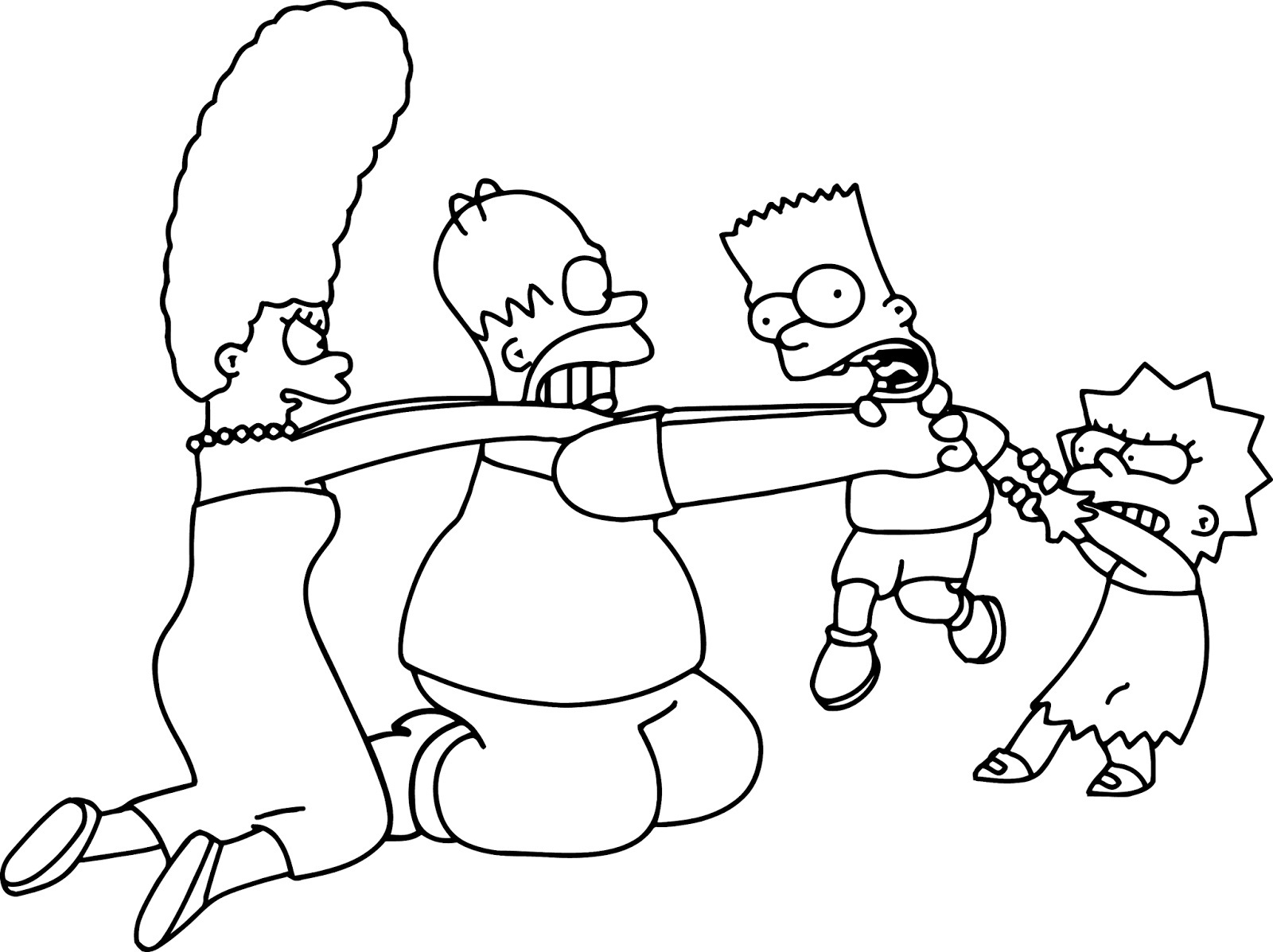 The Simpsons Coloring Pages Simpsons Coloring Pages The Simpsons Coloring Pages Birijus
